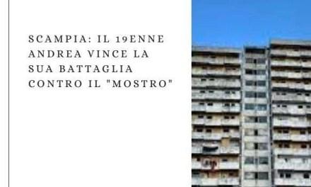 """Scampia: il 19enne Andrea vince la sua battaglia contro il """"mostro"""""""