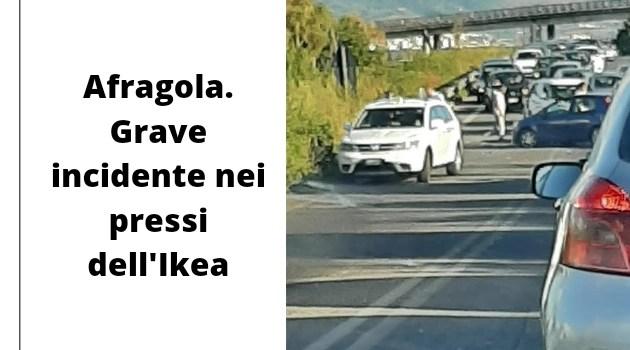 Afragola. Grave incidente nei pressi di IKEA