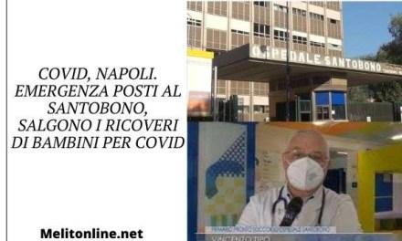 Covid, Napoli. Emergenza posti al Santobono, salgono i ricoveri di bambini per Covid