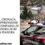 Napoli, cronaca. Ore di apprensione per la scomparsa di una signora di 80 anni a Pianura