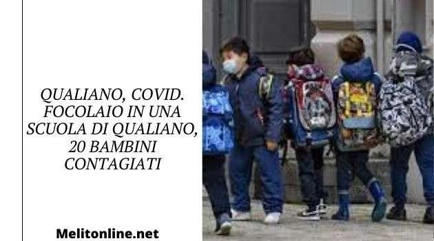 Qualiano, Covid. Focolaio in una scuola di Qualiano, 20 bambini contagiati