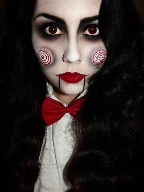 Maquiagem Halloween: Jigsaw (Jogos Mortais)