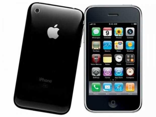 iPhone 3gs, lançado em 2009