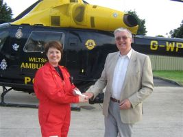 Wiltshire Air Ambulance Donation