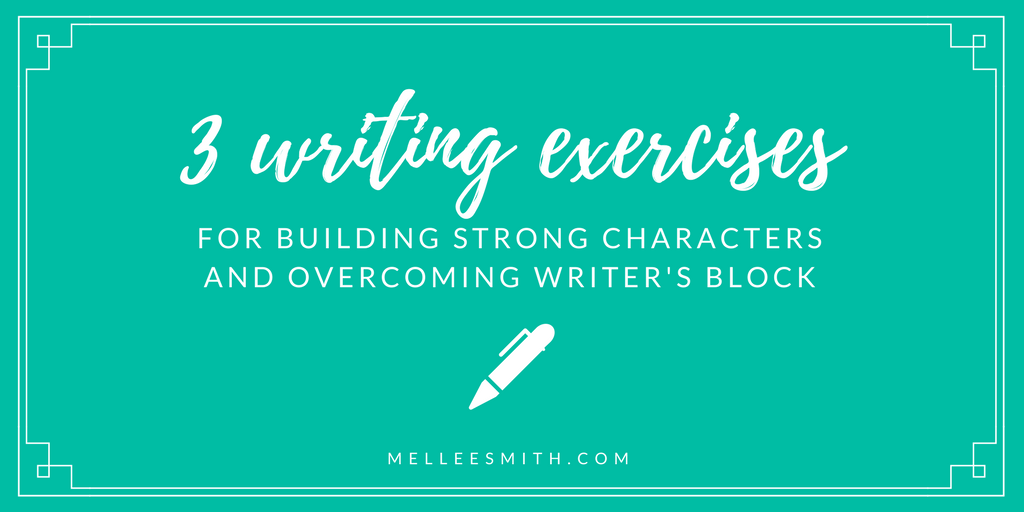 writing exercises to overcome writer's block twitter