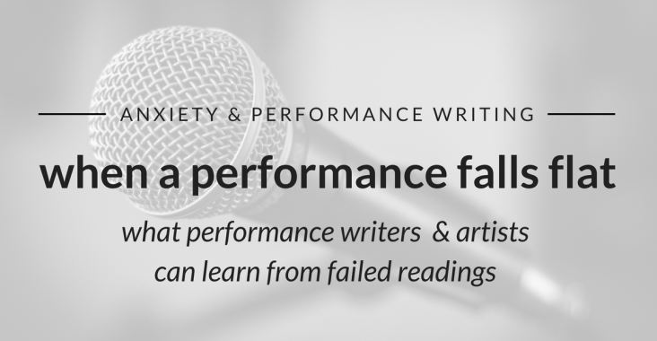 tips for performing on stage, anxiety and performance writing featured