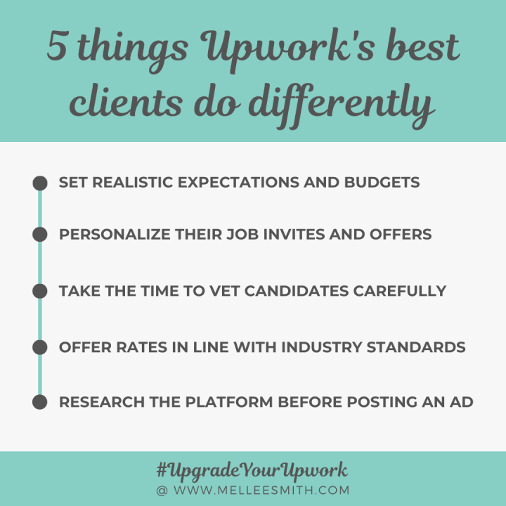 5 things upwork's best clients do differently best freelance writers on upwork instagram/social