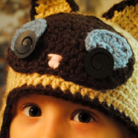 Crochet Kitten Hat