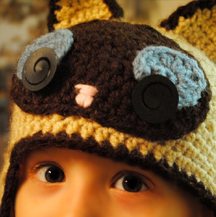 Crochet Kitten Hat