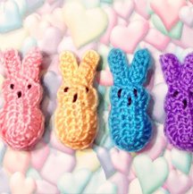 Crochet Easter Peeps