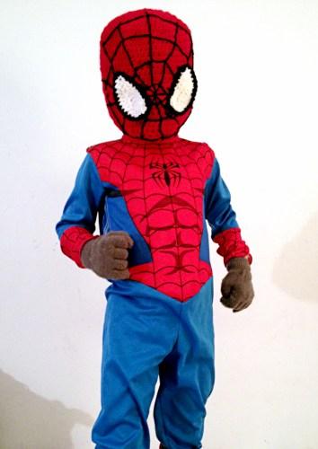 Spiderman Crochet Mask