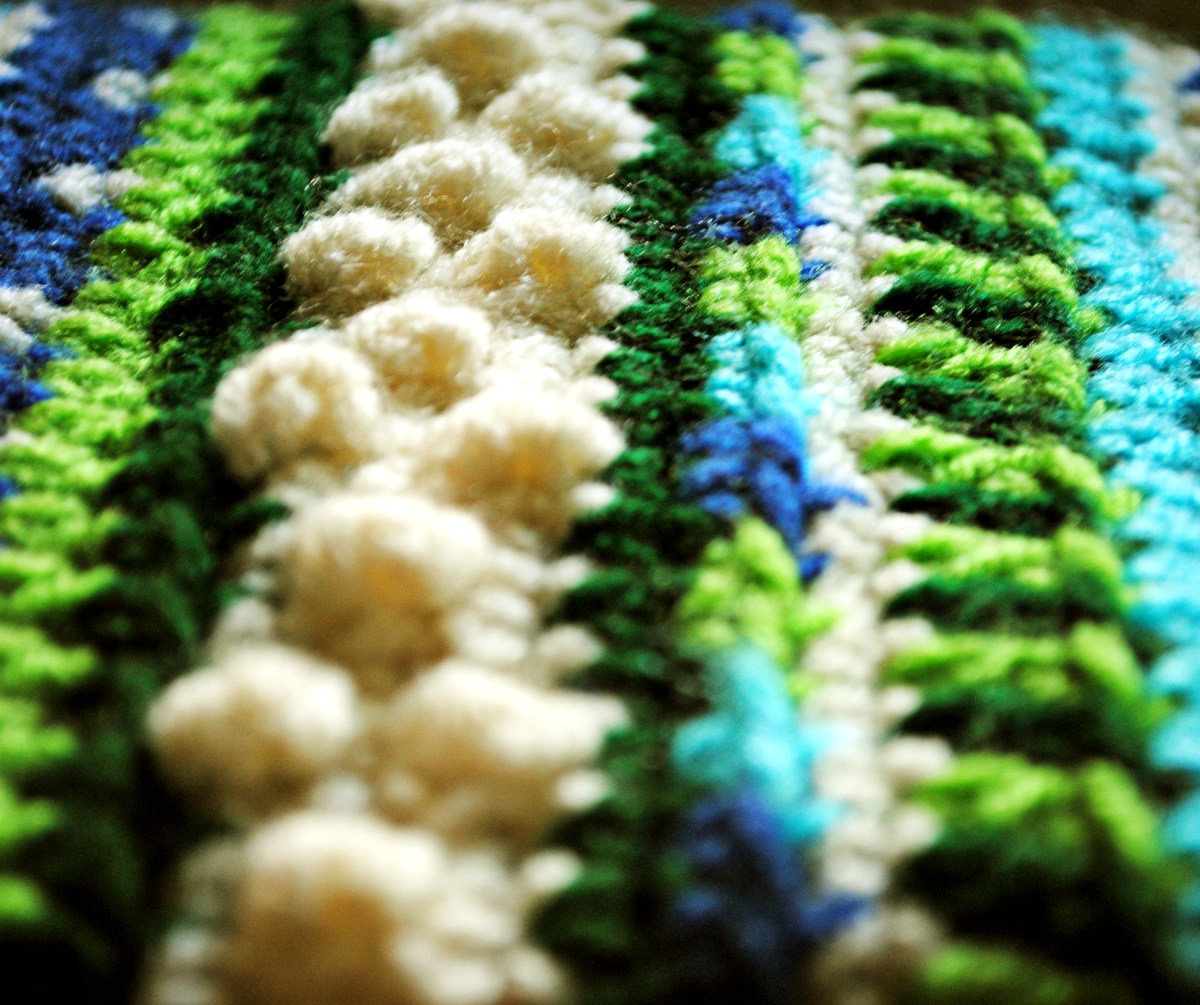 Bright and colorful - crochet