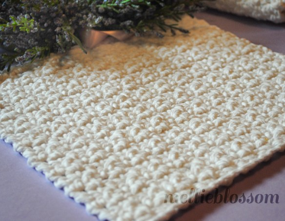 Free Easy Crochet Dishcloth Pattern Mellie Blossom