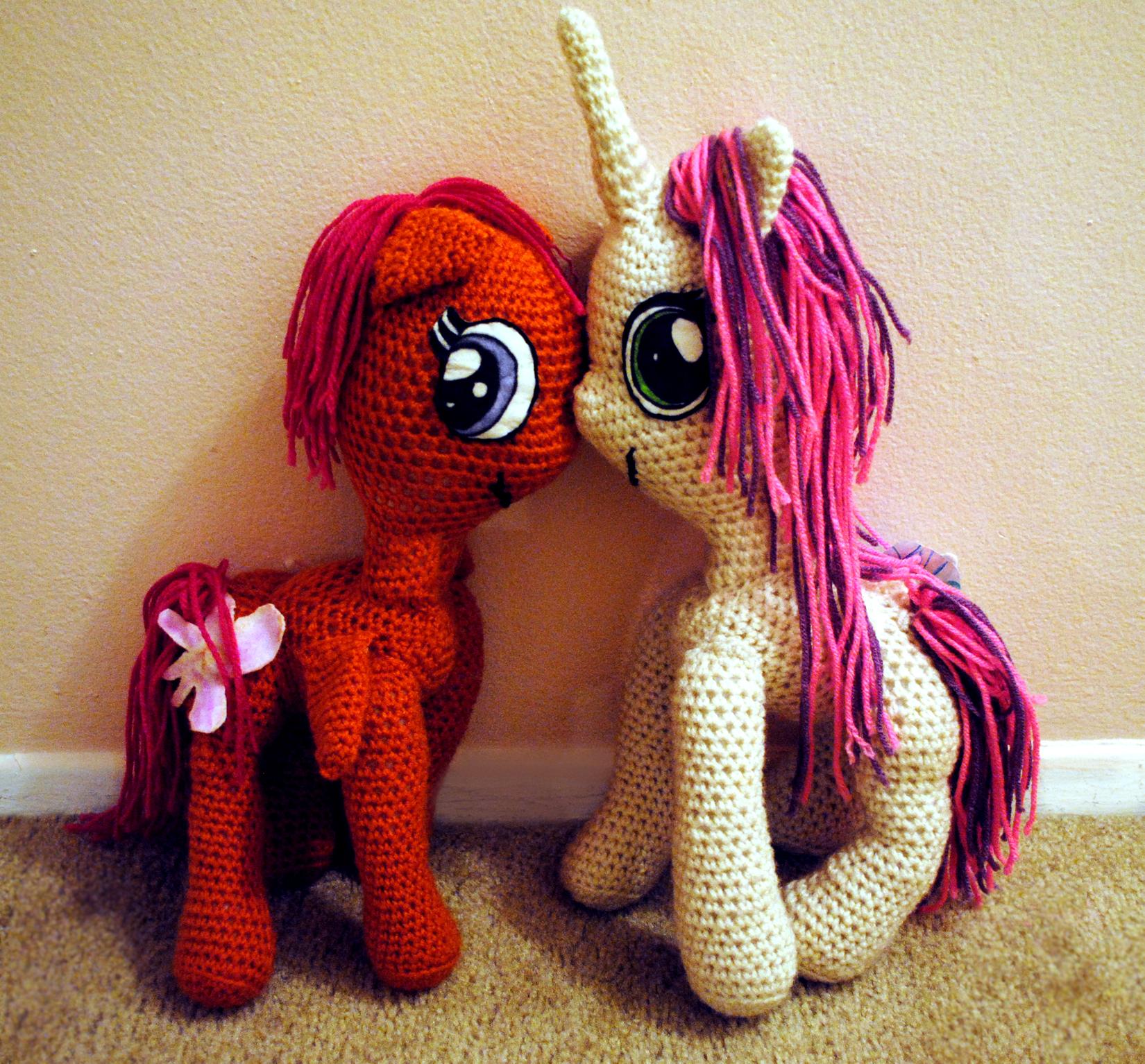 Crochet My Little Pony Toys Mellie Blossom