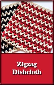 Zigzag Dishcloth