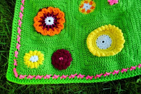 Crochet Flower Garden Border