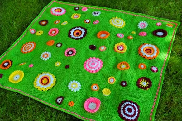 Crochet Flower Garden Afghan