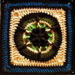 Crochet Banjo Music Square