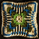 Crochet Kitten's Claw Square