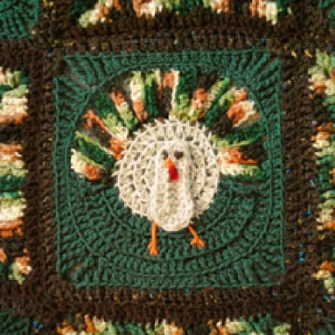 Crochet Thanksgiving Blanket