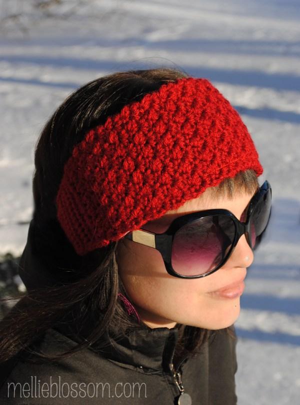 Crochet Headband for Winter | mellie blossom