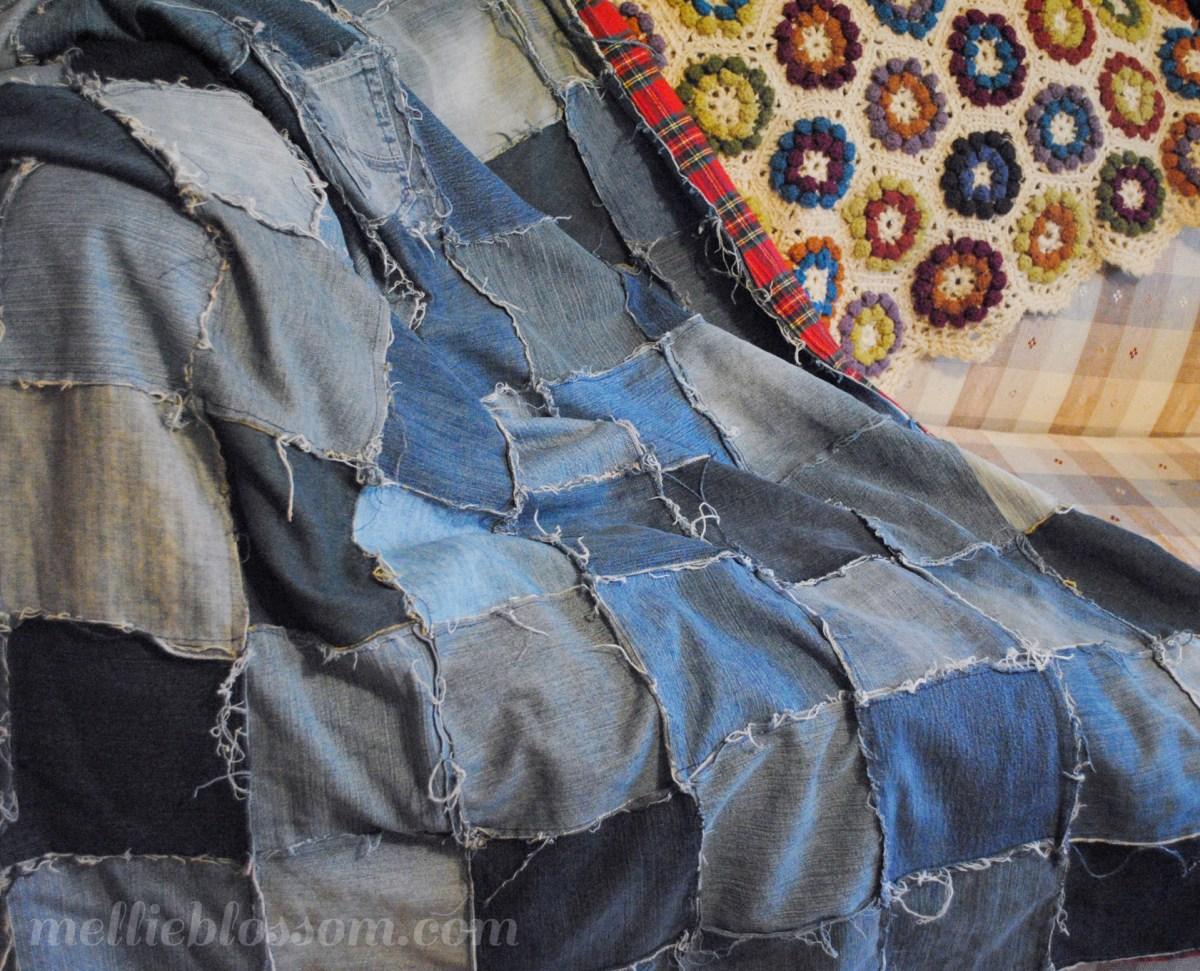 Repurposed Jeans: Denim Quilt