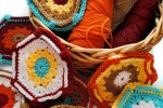 WIP Crochet Hexagons
