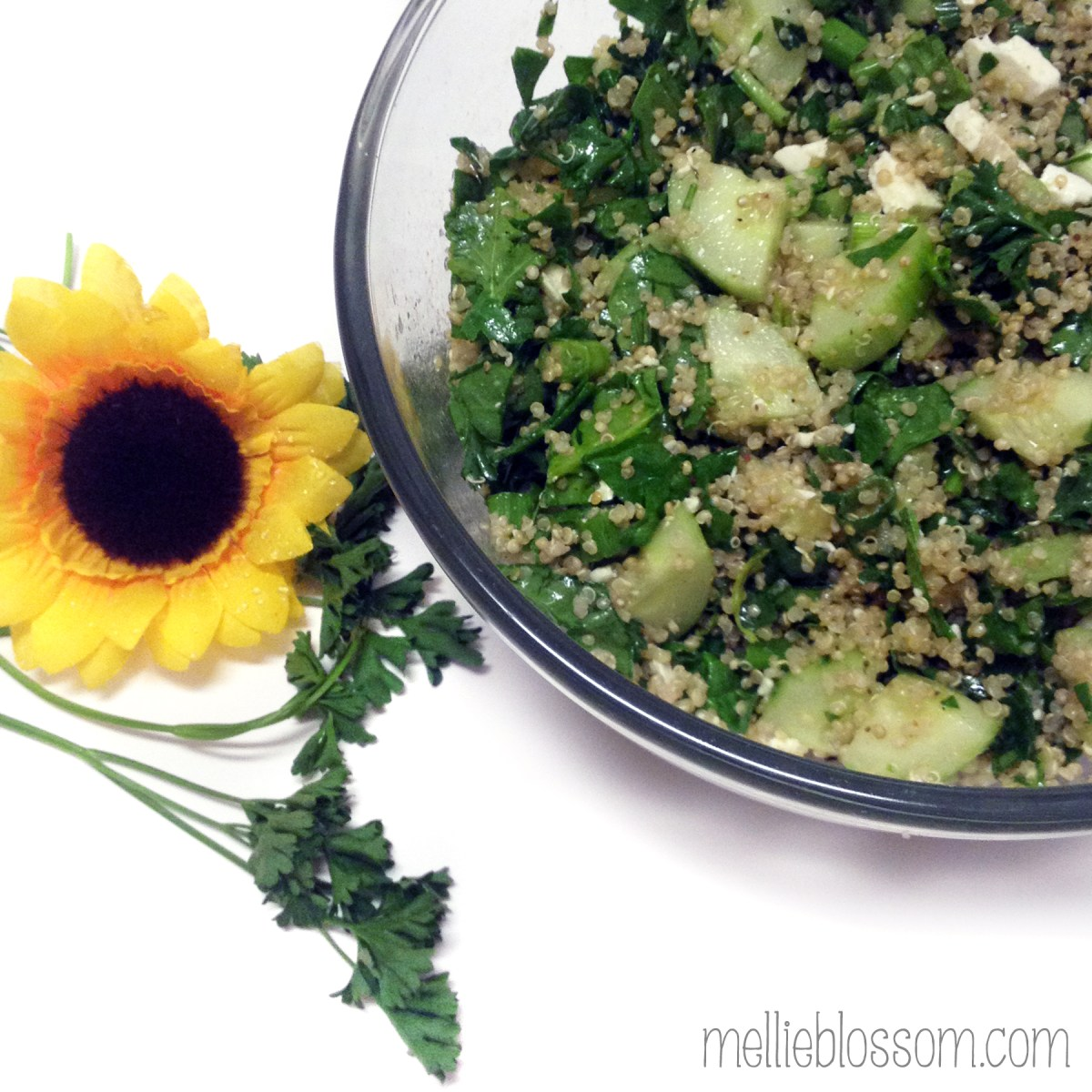 Green Quinoa Salad Recipe
