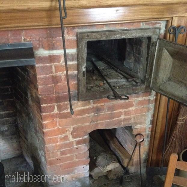 19th century brick-heated stove - mellieblossom.com