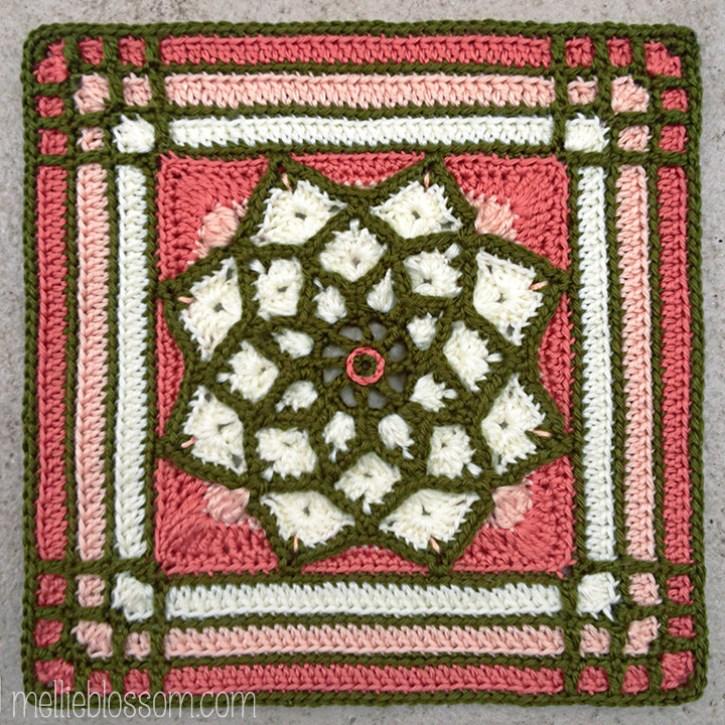 Sun Catcher Crochet Square