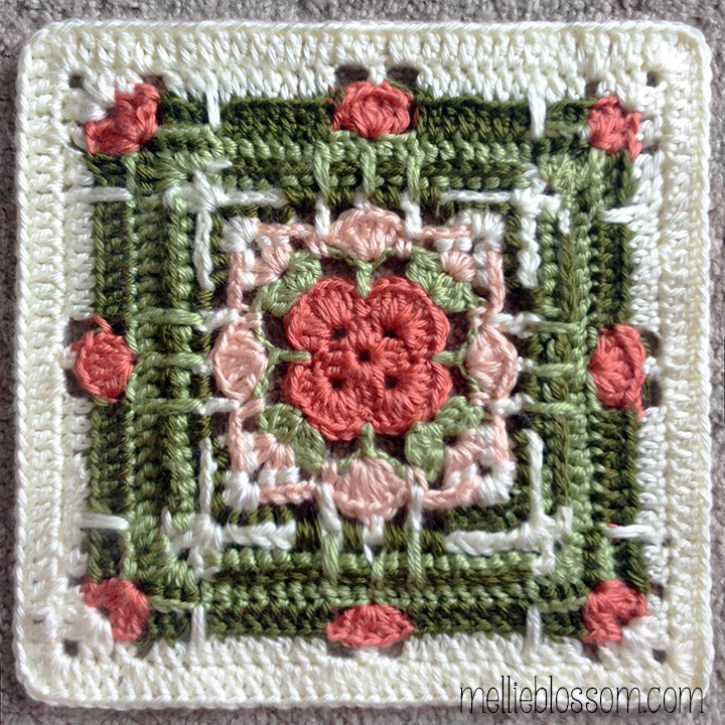 Beautiful Crochet Squares - Hayton Block