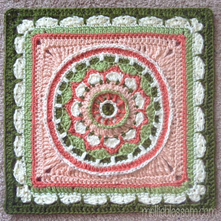 Beautiful Crochet Squares - Dream Circle Square