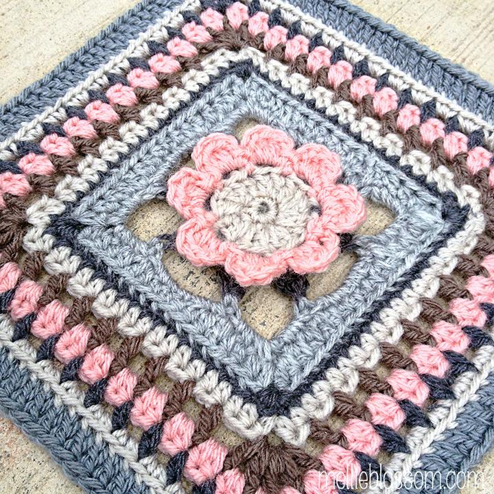 Pink Puddles Crochet Swap - mellieblossom.com