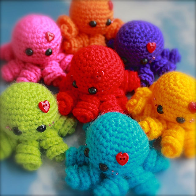 Crochet Trends - octopuses