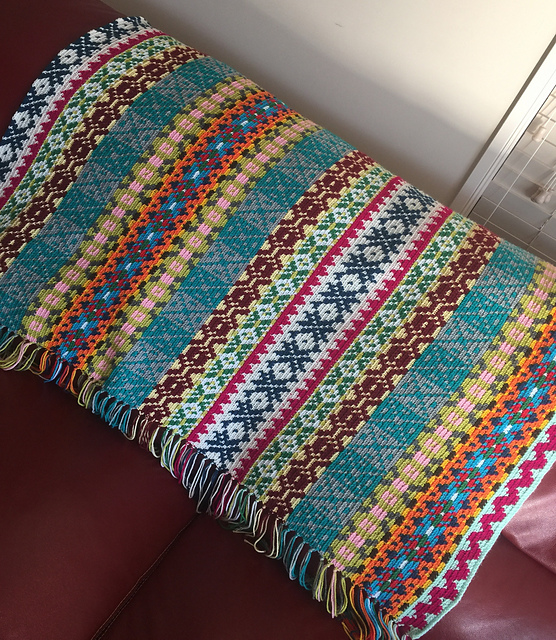 Recent Crochet Pattern Purchases - Sampler Blanket - mellieblossom.com