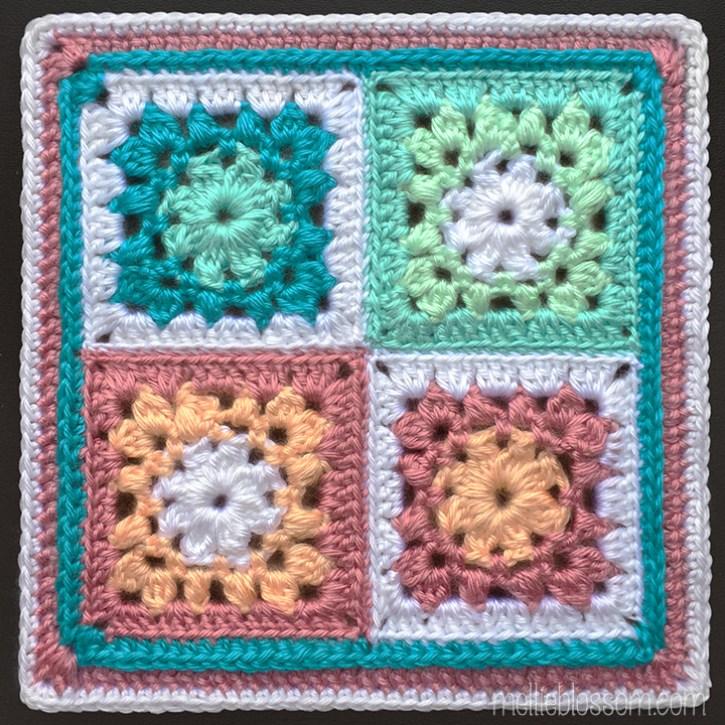2018 Crochet Along - Knotted Puffs