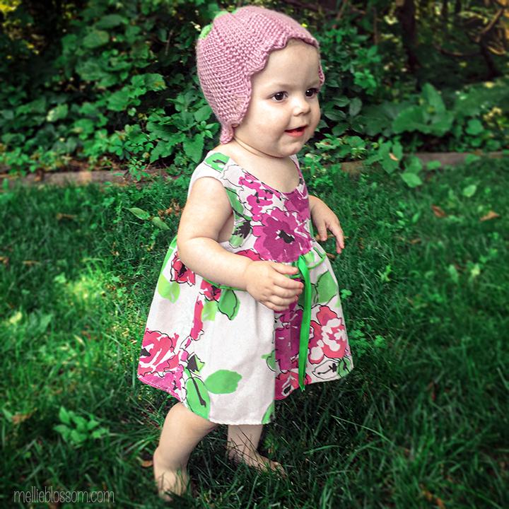 Crochet Tulip Hat - mellieblossom.com