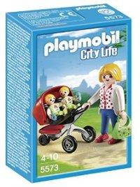 Playmobil mama con gemelos