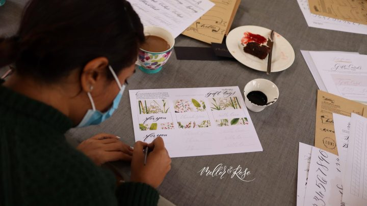 Calligraphy for Florists with Mellor & Rose