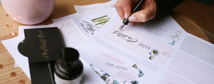 Online Calligraphy Workshop with Mellor & Rose