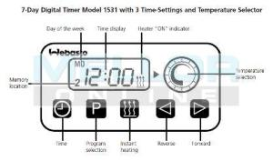 Webasto Digital TimerAlarm 24v, Night Heater Kits