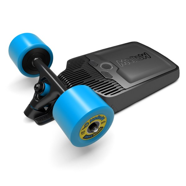 The Electric Skateboard Drive that fits under any Skateboard