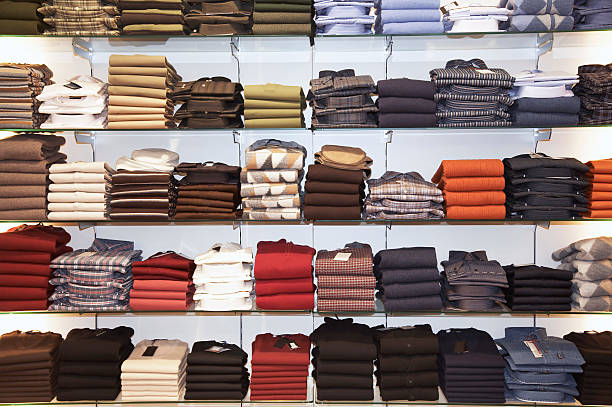 sort by color-types of displays in retail