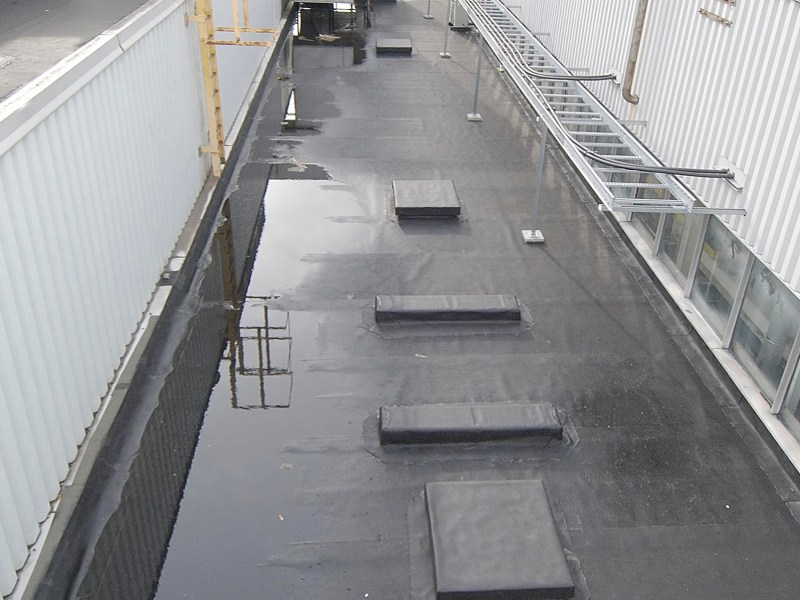 Ford Duntion - single ply flat roofing