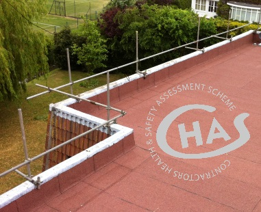 Health and safety for flat roofing in Essex