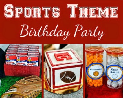 Thrift It Thursday:  Sports Party Freebies!
