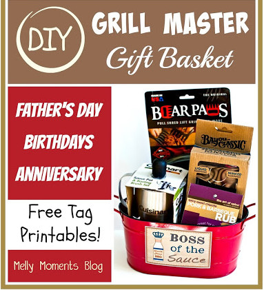 DIY Gift Basket for Men (Grill Master Edition)