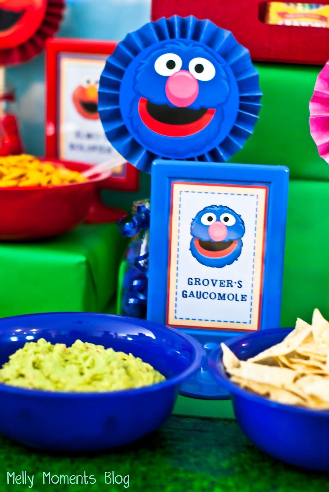 Sesame Street Amp Elmo Themed Birthday Party