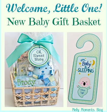 DIY New Baby Gift Baskets