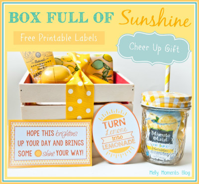 "A Cheer Up ""Sunshine"" Basket"